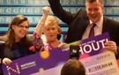 Heart felt moment for Mecca Oldham Jackpot Winner