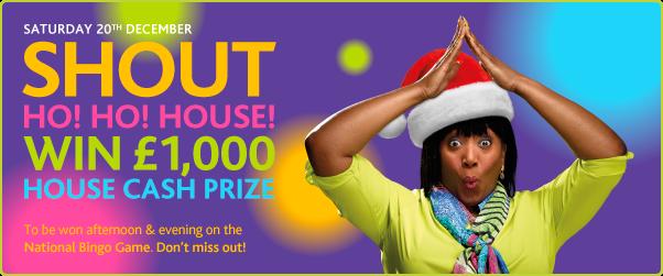 Shout Ho! Ho! House!